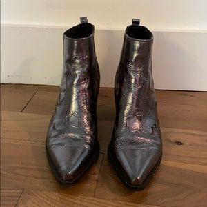 Sam Edelman western ankle bootie
